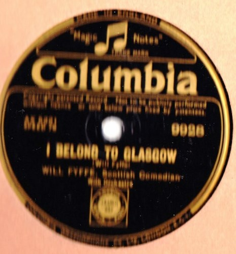 Will Fyffe - Im 94 to day / I belong to Glasgow - Columbia 9928