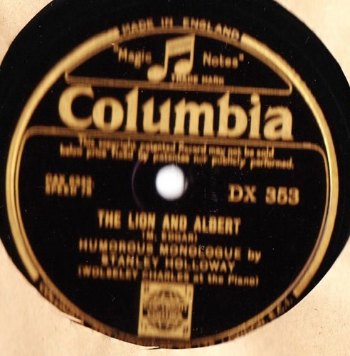 Stanley Holloway - The Lion & Albert - Columbia DX.353