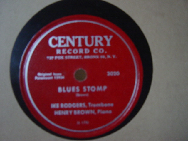 Ike Rodgers & Henry Brown - Blues Stomp - Century 3020