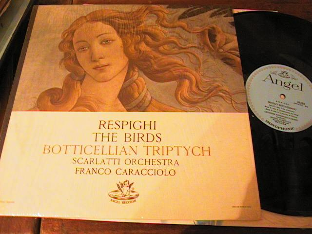 RESPIGHI - THE BIRDS - CARACCIOLO - ANGEL