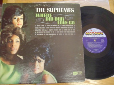 THE SUPREMES - WHERE DID OUR LOVE GO - MOTOWN