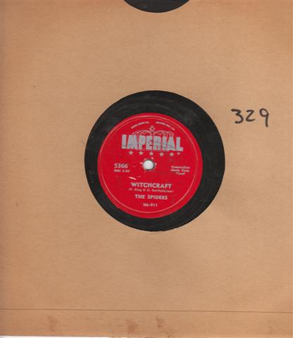 THE SPIDERS - IS IT TRUE - IMPERIAL 5366 { 329
